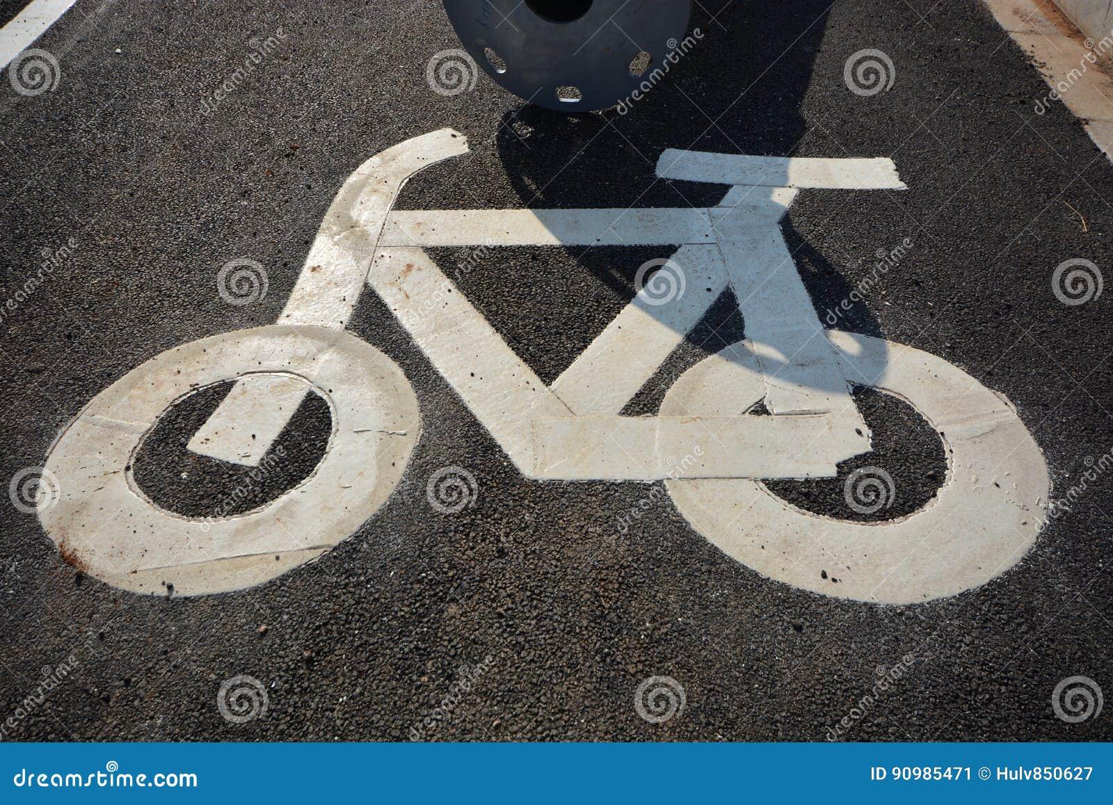 Signe de vélo