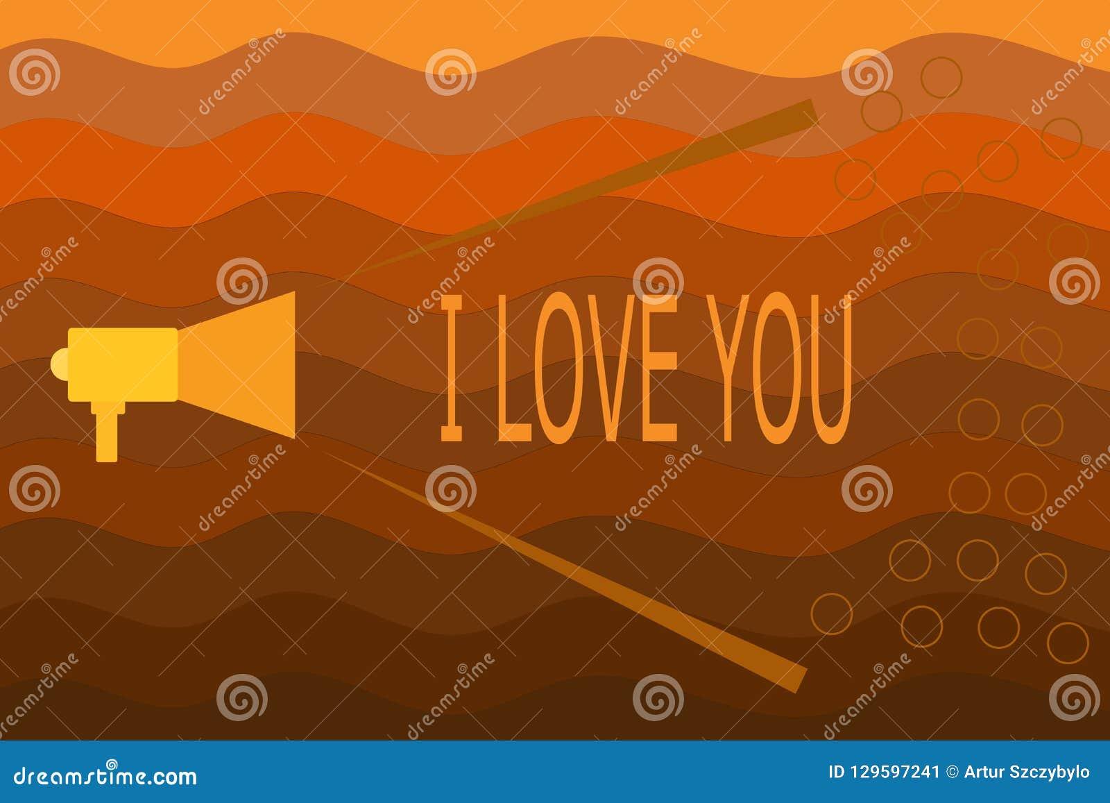 Signe des textes montrant je t aime Photo conceptuelle exprimant des sentiments roanalysistic pour quelqu un émotion positive