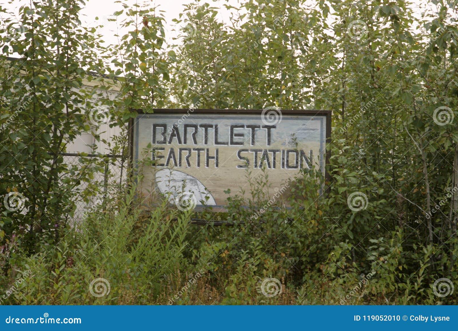 Signe envahi pour Bartlett Earth Station