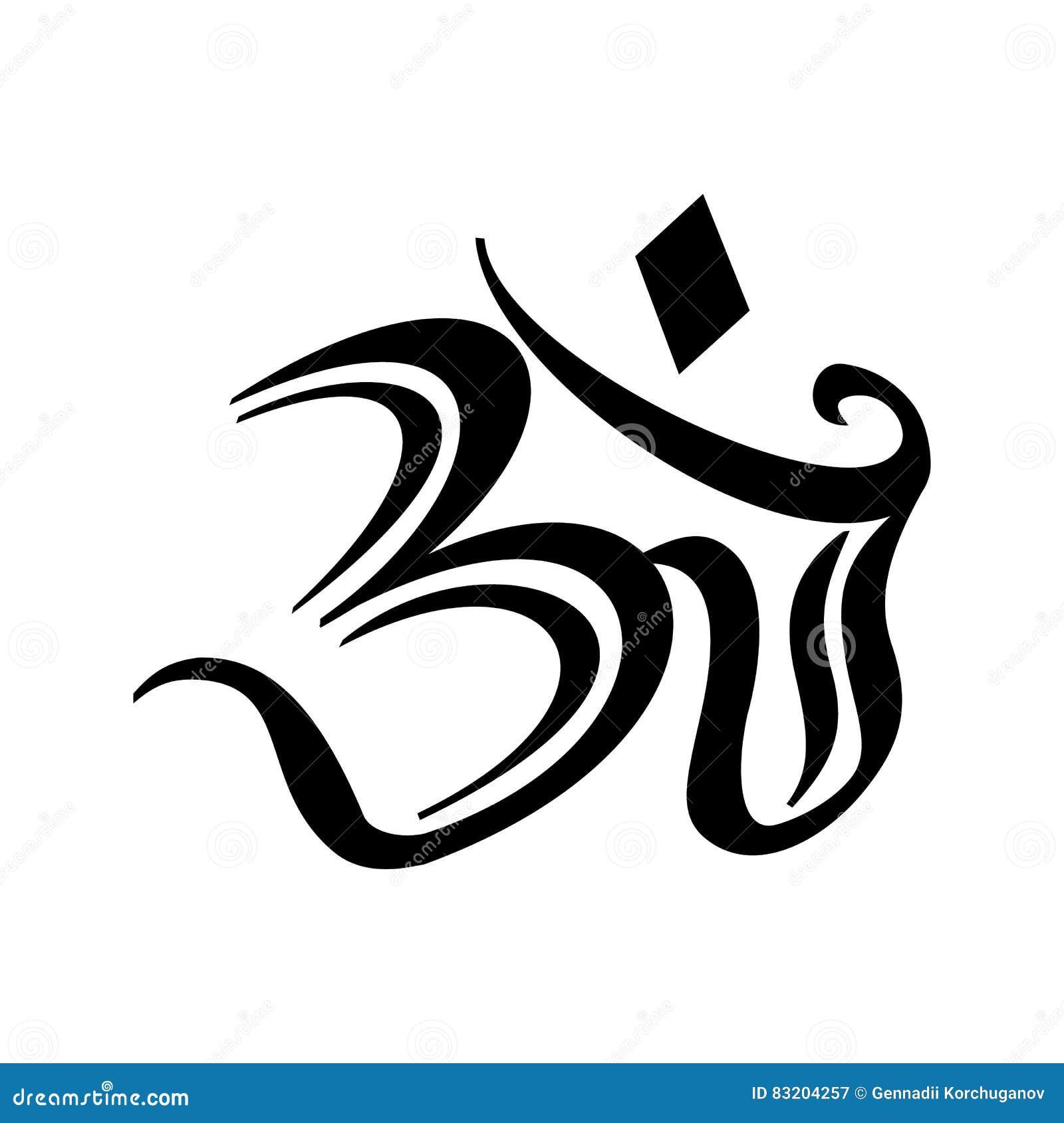 Symbole hindou om galerie tatouage - Symbole indien signification ...