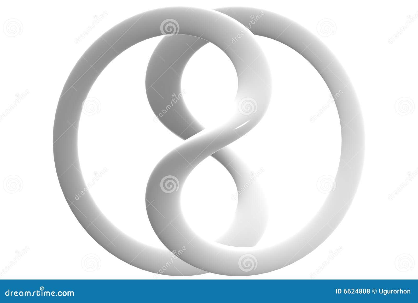 Signe lustr en c ramique d 39 infini photos libres de droits image 6624808 - Le signe de l infini ...
