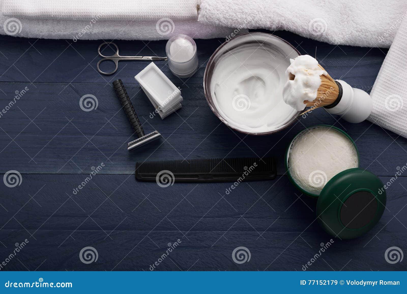 Signe moderne pour le raseur-coiffeur masculin