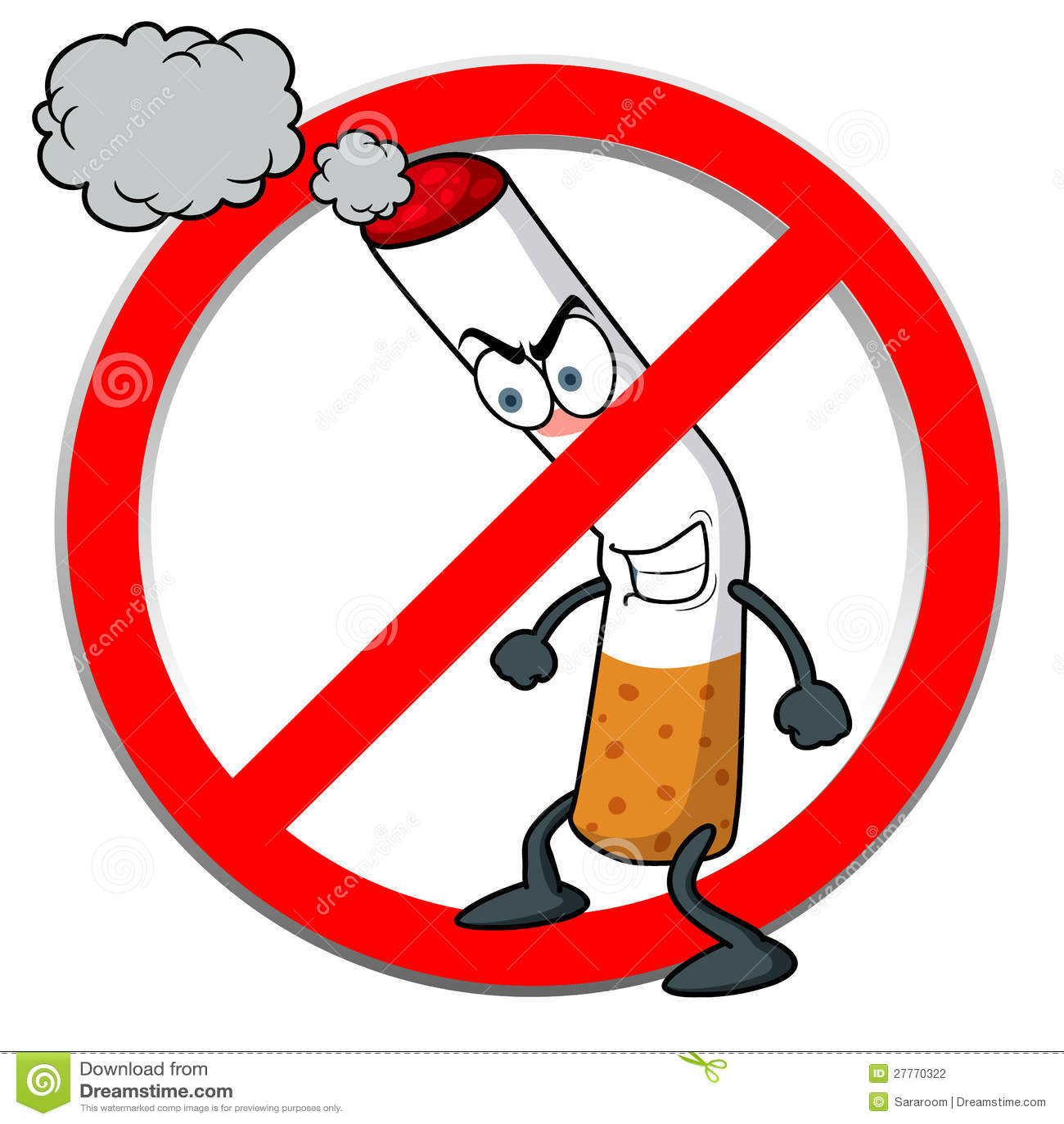 Signe non-fumeurs