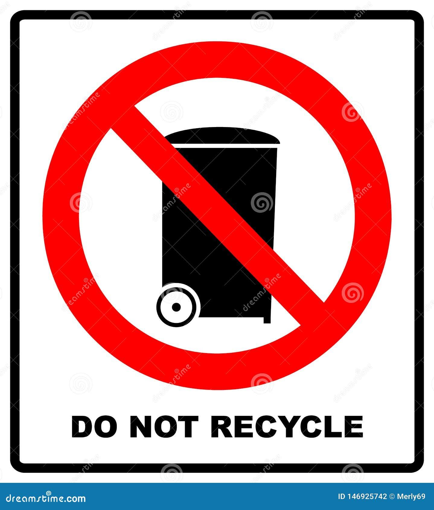 Signe rouge d interdiction d isolement sur un fond blanc - ne r?utilisez pas cette ic?ne d article Symbole interdit de avertissem