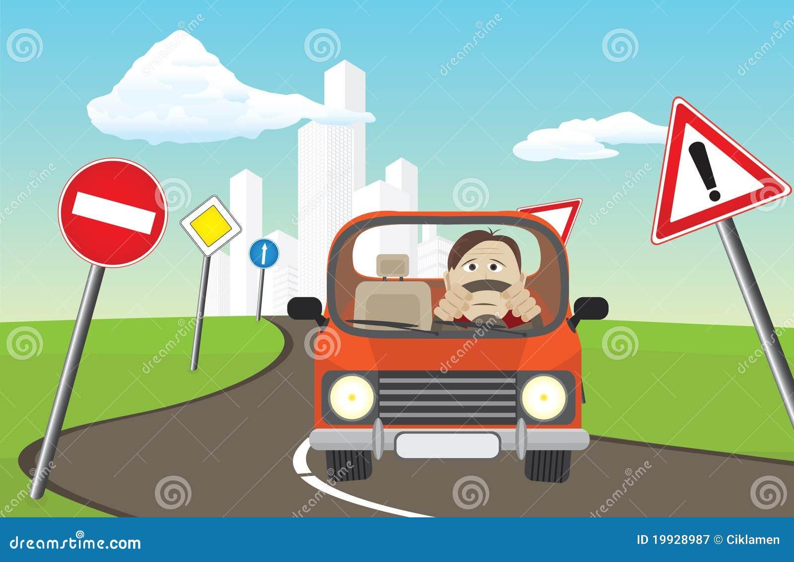 Signes de route