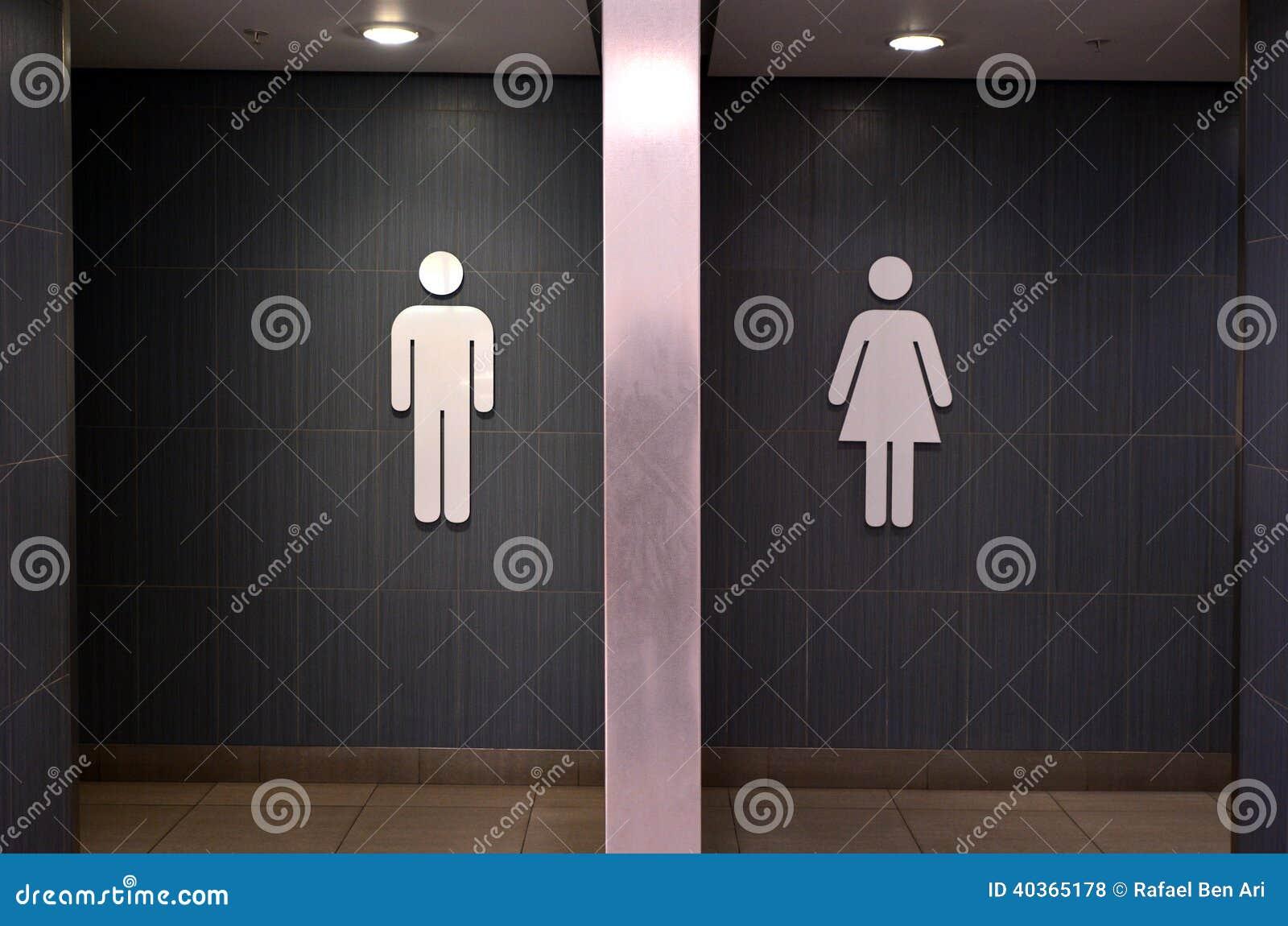 Signes de toilette