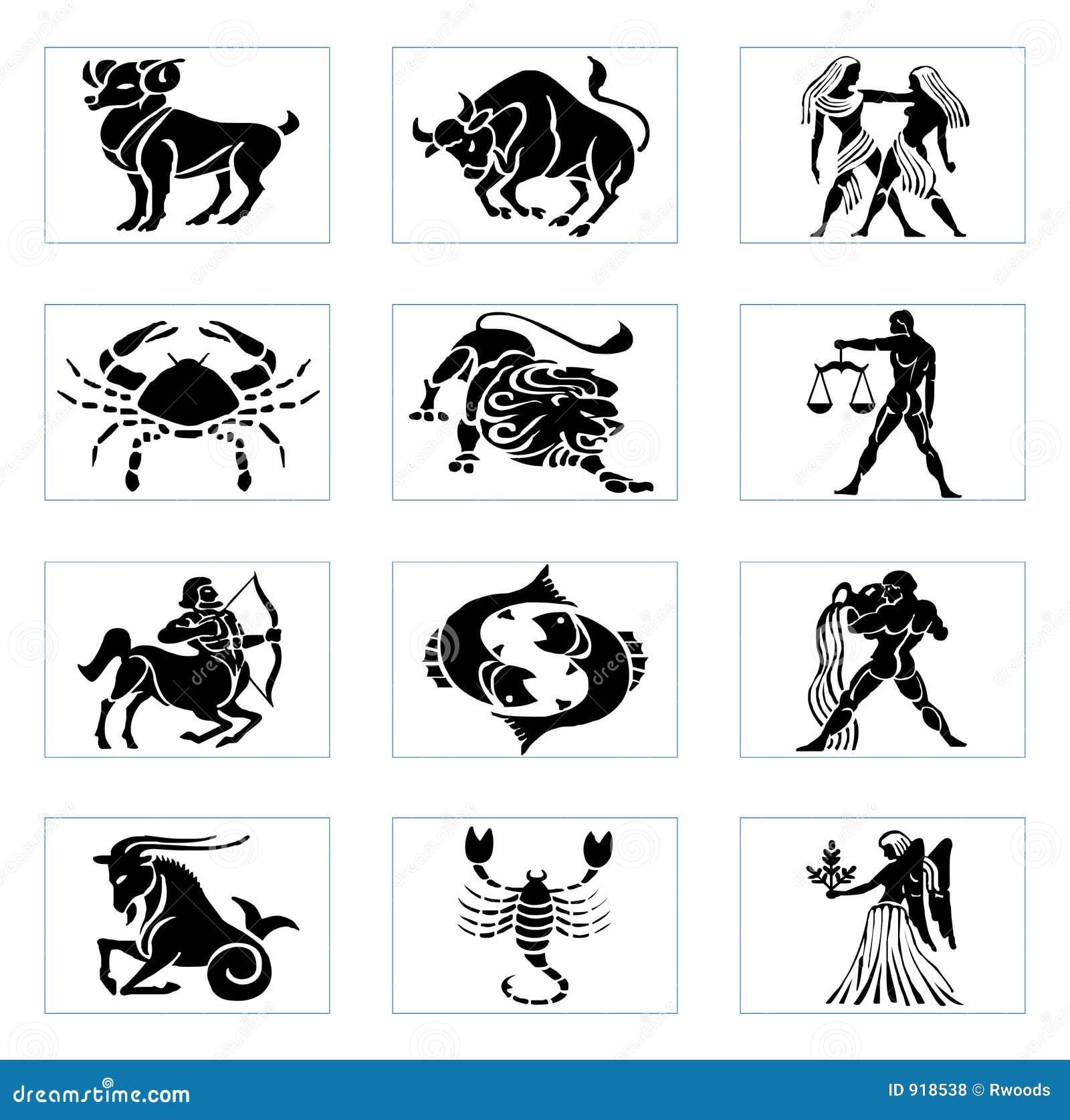 signes de zodiaque illustration stock illustration du scorpion 918538. Black Bedroom Furniture Sets. Home Design Ideas