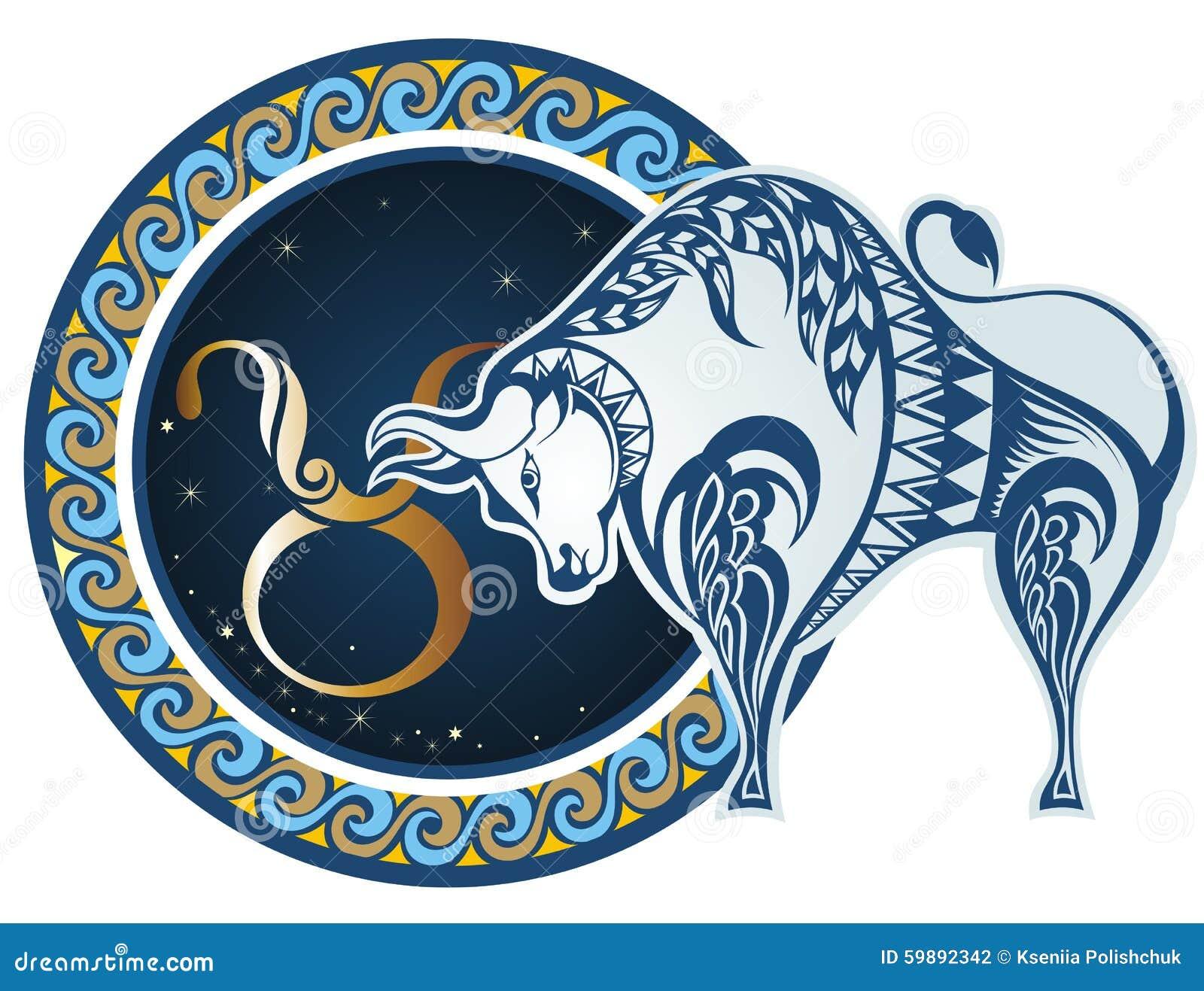 signes de zodiaque taureau illustration de vecteur image 59892342. Black Bedroom Furniture Sets. Home Design Ideas