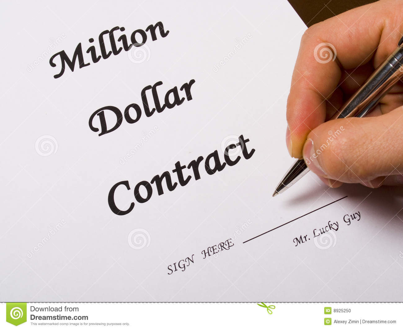 design agreement contract
