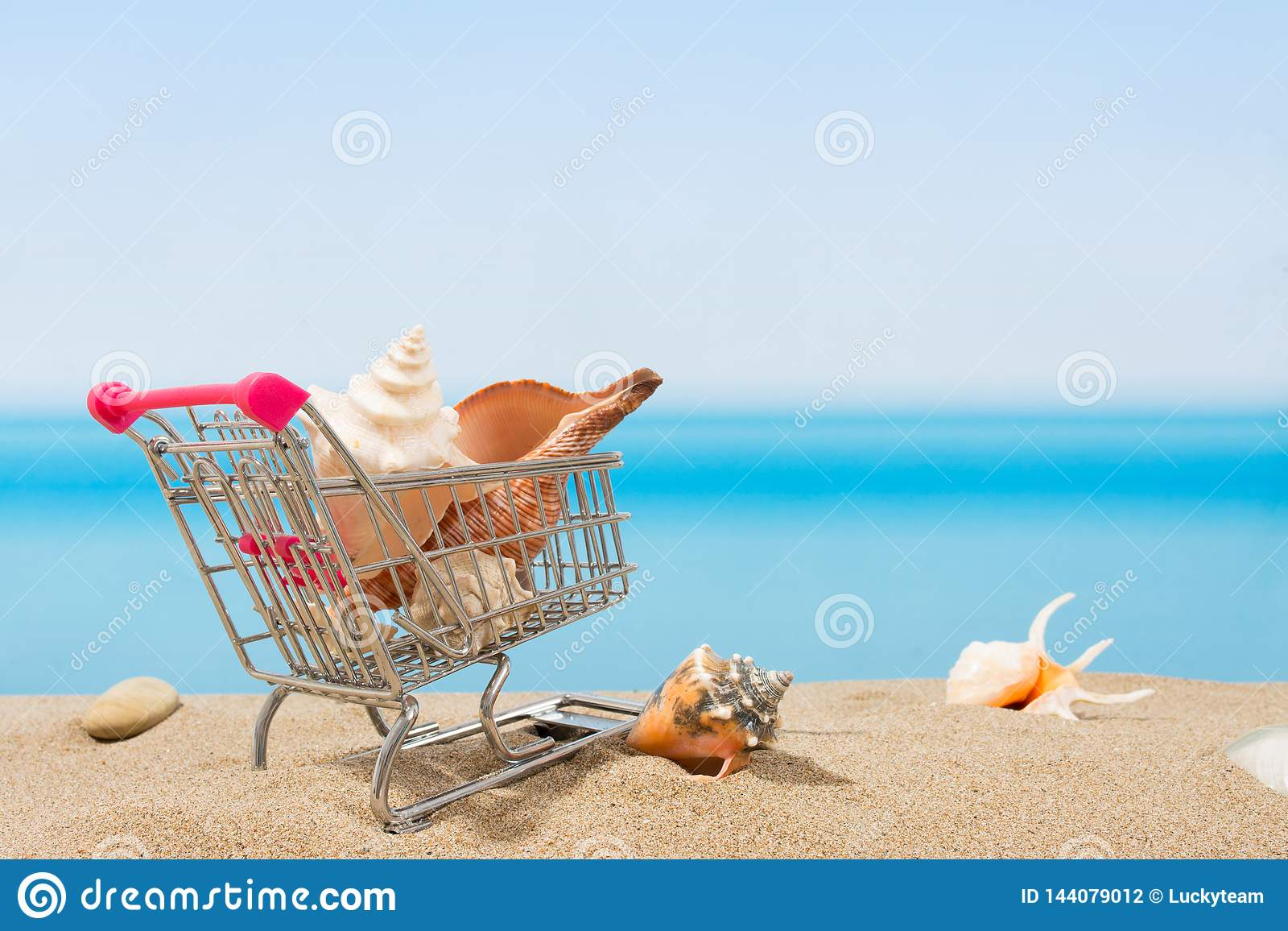 Signings del verano, viaje que hace compras Carro en la playa