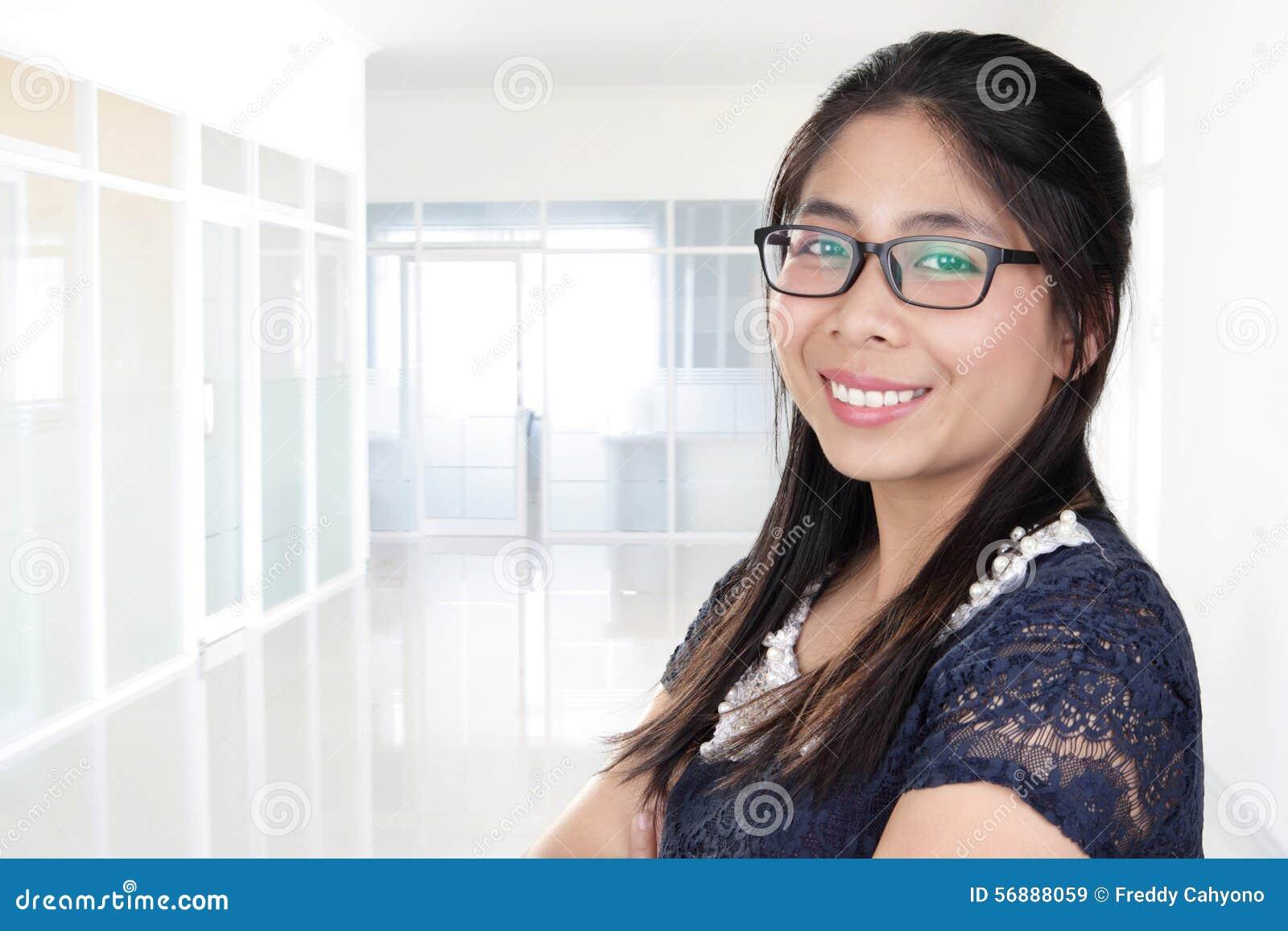 Signora adorabile dell ufficio