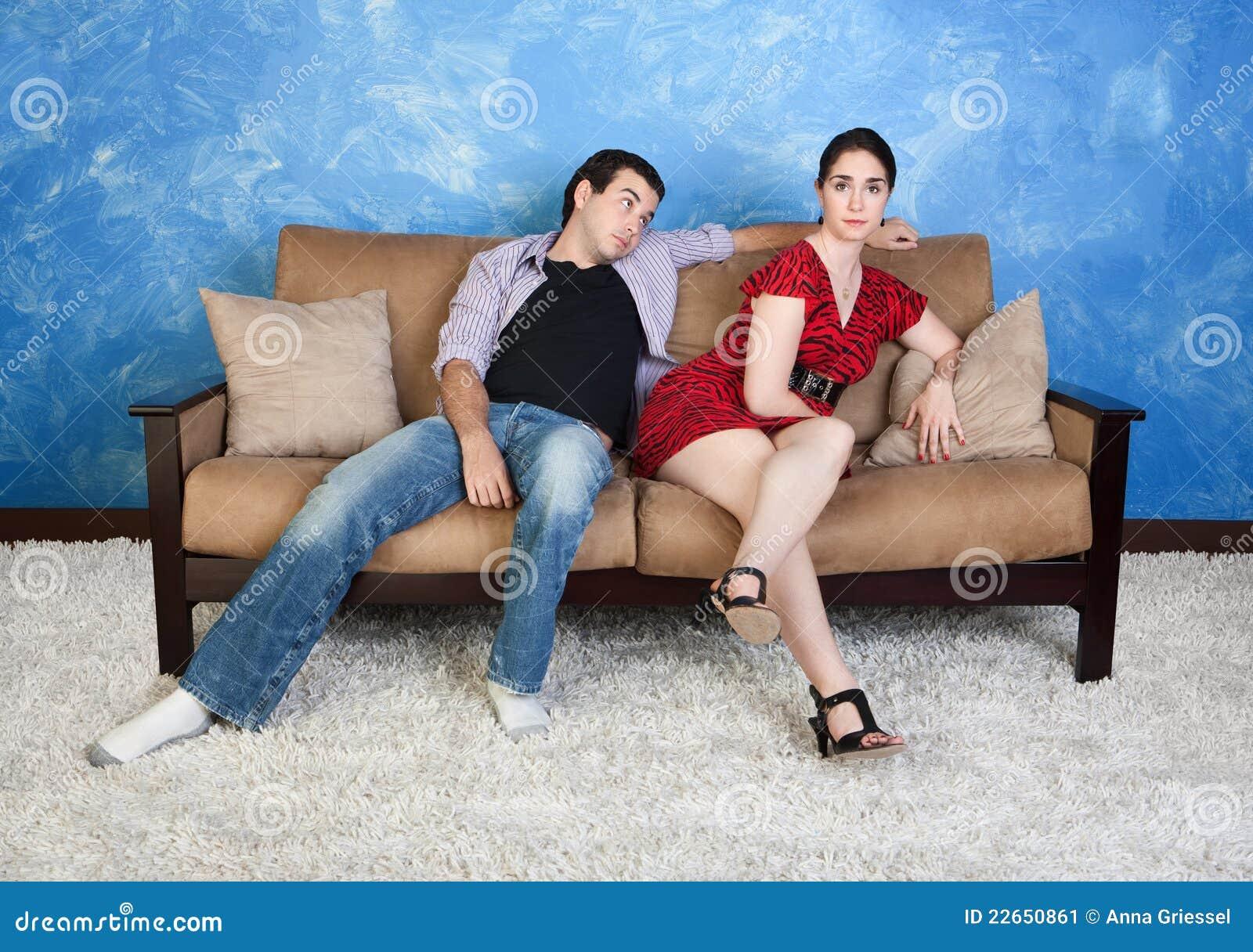 Signora With Boyfriend
