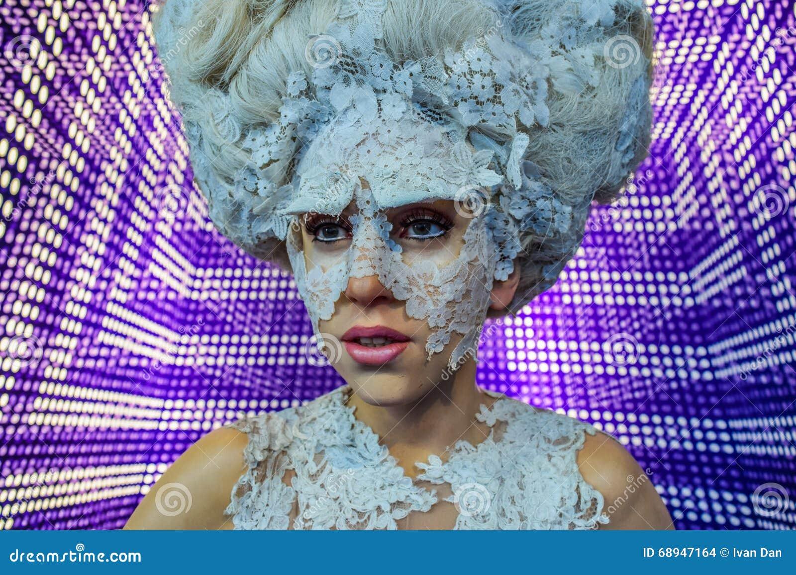 Signora Gaga, figura di cera Stefani Joanne Angelina Germanotta