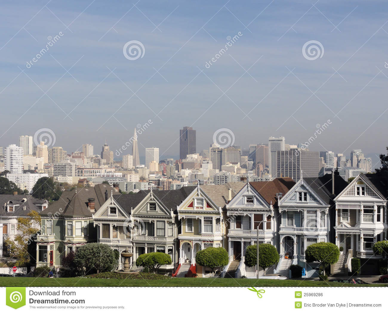 Signore verniciate di San Francisco