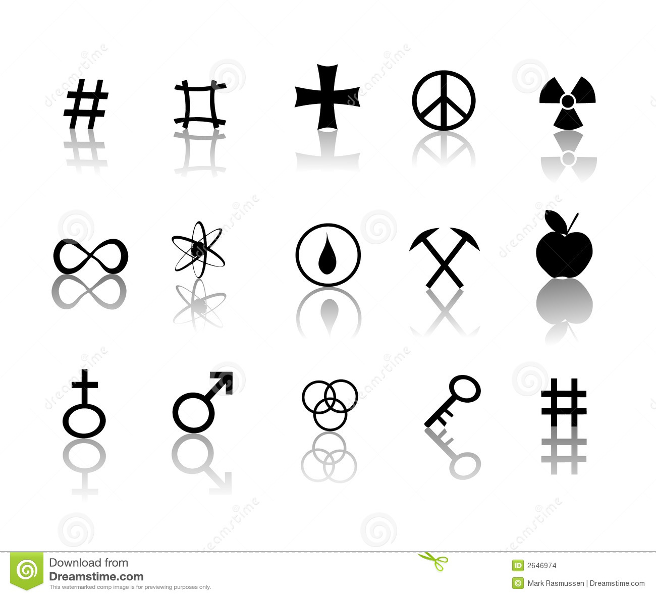 Black and white signs and symbols icon set Warning Signs And Symbols Black And White