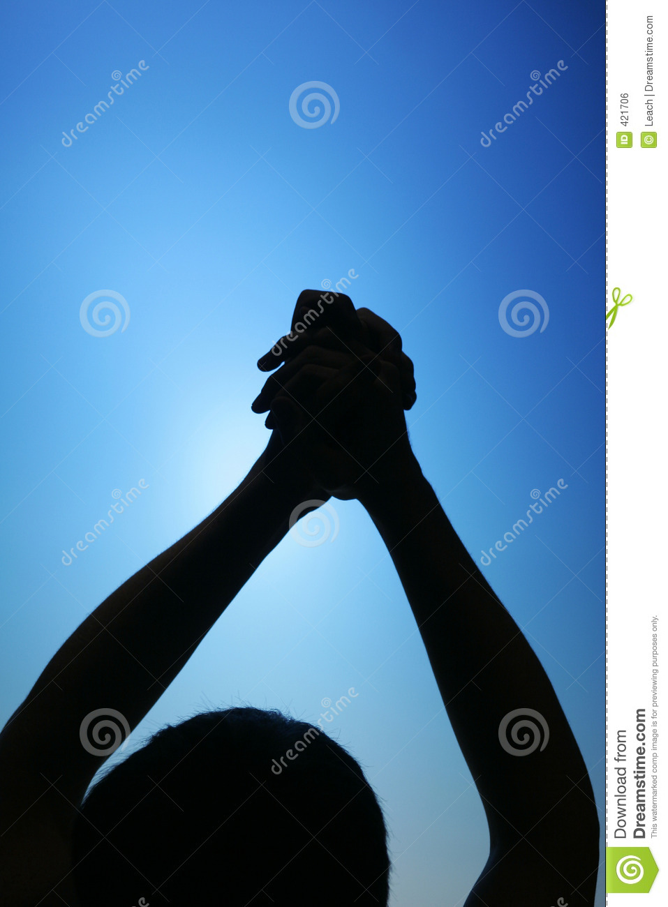 Signs And Symbols Of Success And Winning Stock Photo Image Of Pray