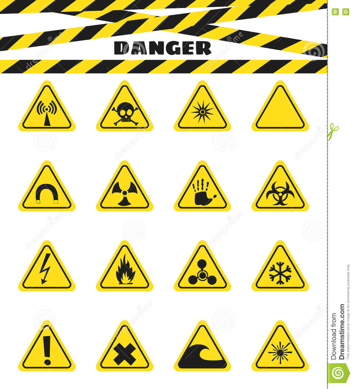 Flammable Caution Sign...