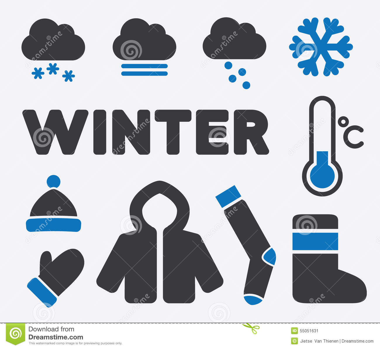 What are the signs in winter