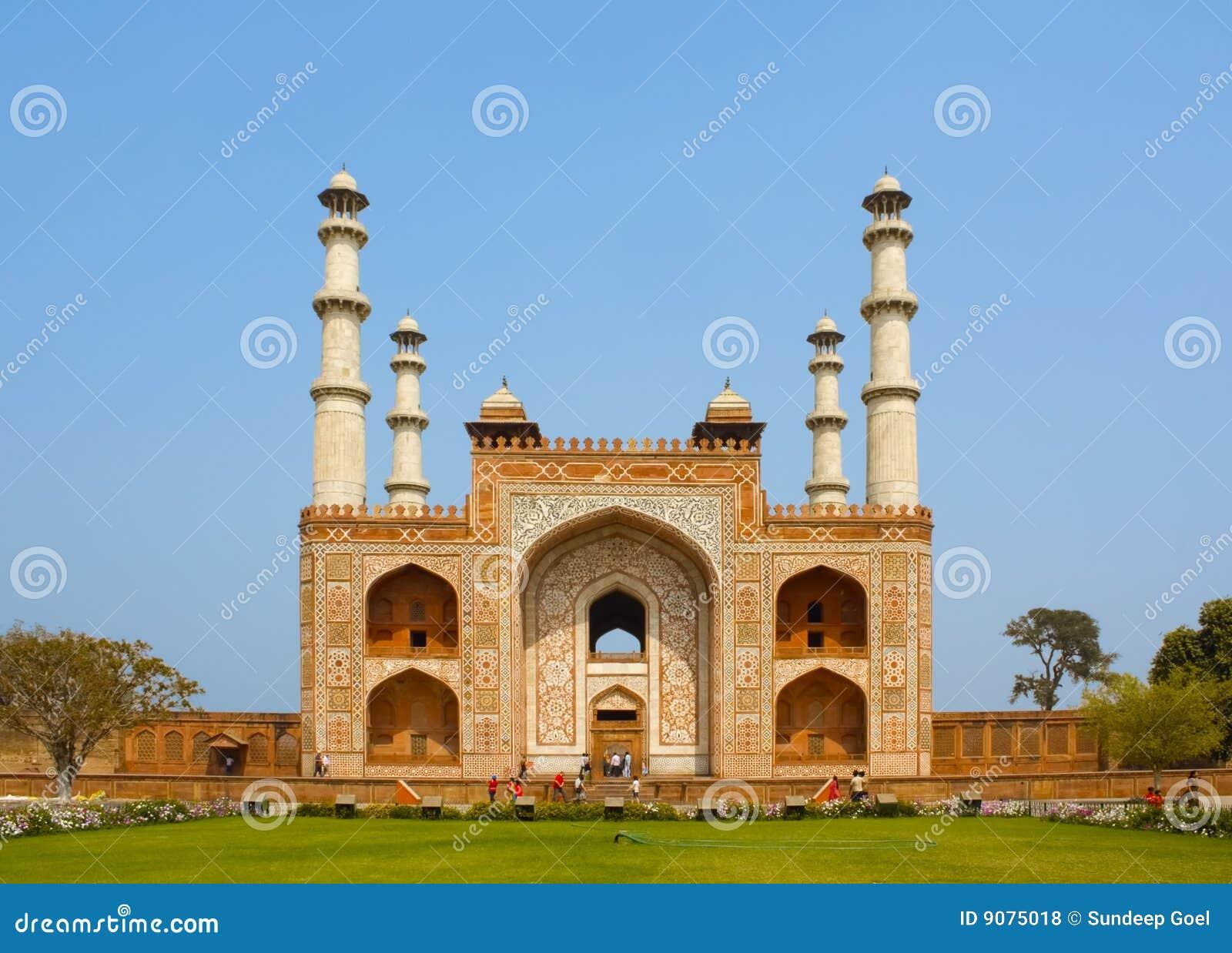 Sikandra, tomba di Akbar