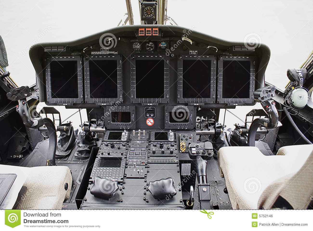 Collision Avoidance System >> Sikorsky S-92 Electronics stock photo. Image of observation - 5752146