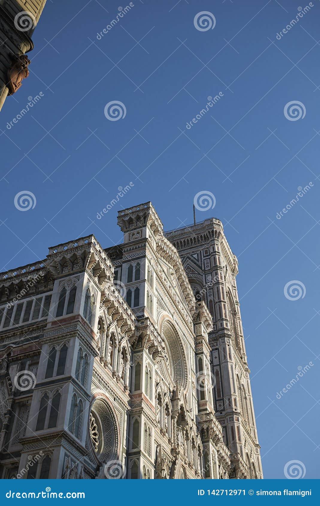 Sikt av Florence Cathedral
