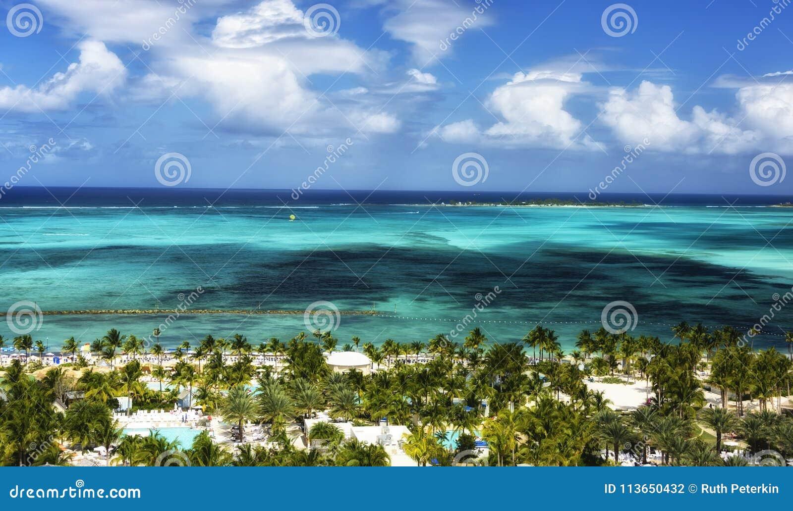 Sikt av Nassau, Bahamas