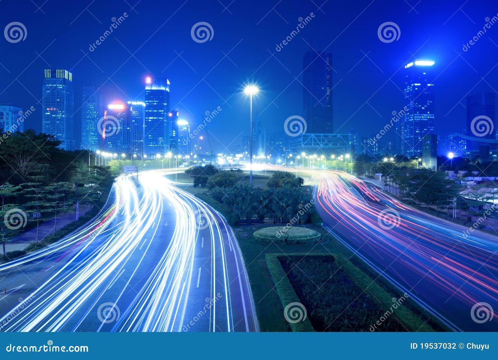 Sikt för stadsnatttrafik