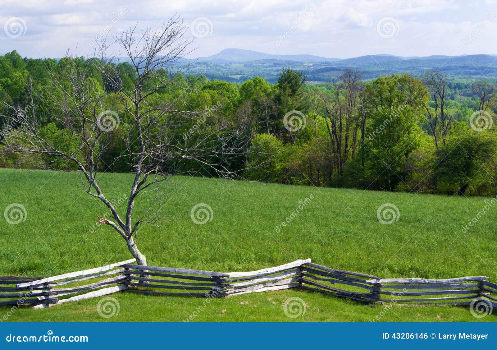 Download Sikt Från Det Groundhog Berget - Blåa Ridge Parkway, Virginia, USA Arkivfoto - Bild av säsong, leaves: 43206146