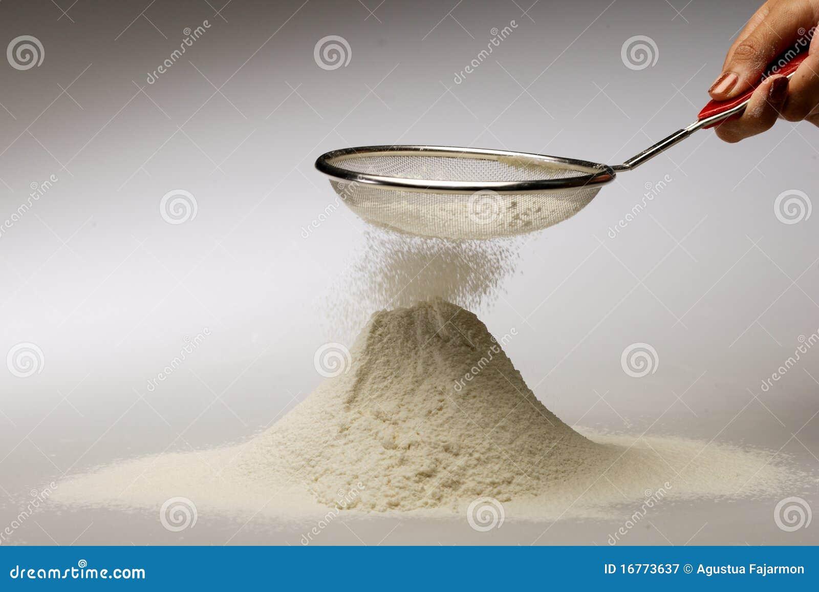 Sikta för mjöl