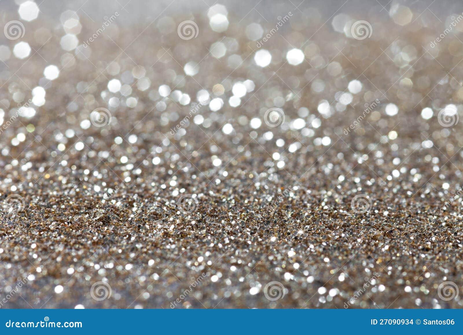 Silber Funkelte Hintergrund - Weihnachten Stockfoto - Bild von ...