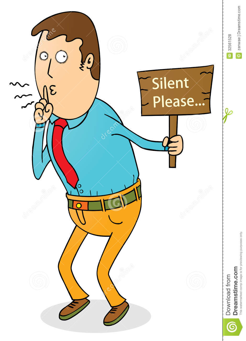 Silent Please Royalty Free Stock Photos Image 32561528Quiet Signal Clipart