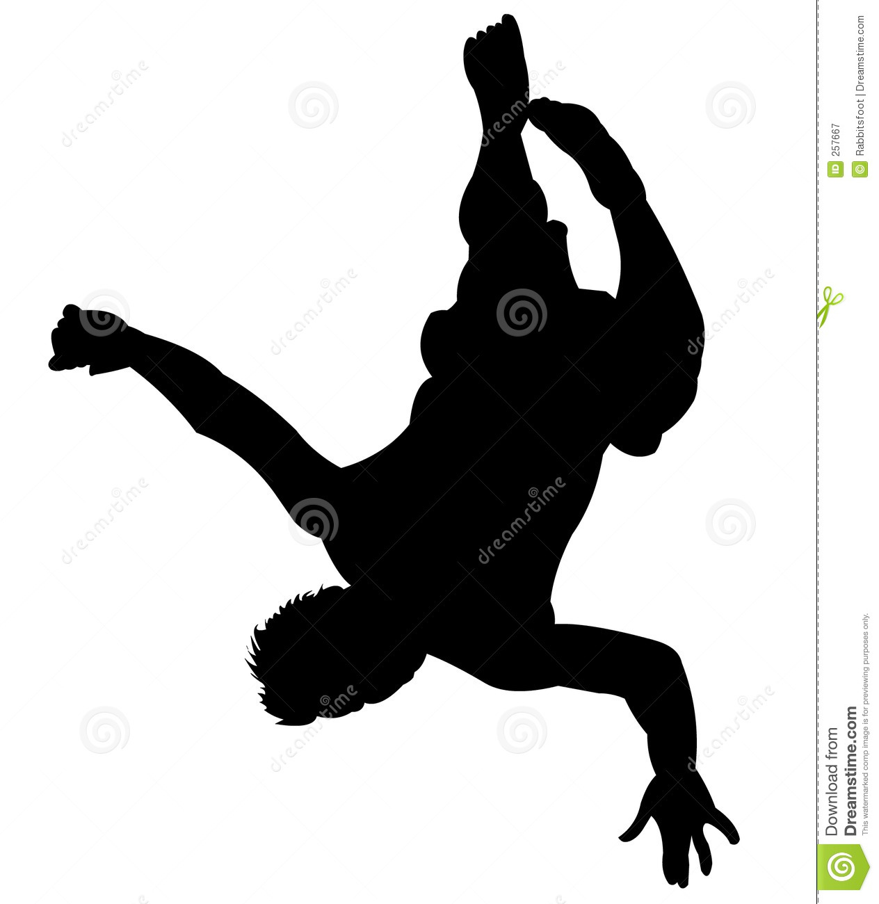 Tumbling Clipart Silhouette Back flip clip art - viewing