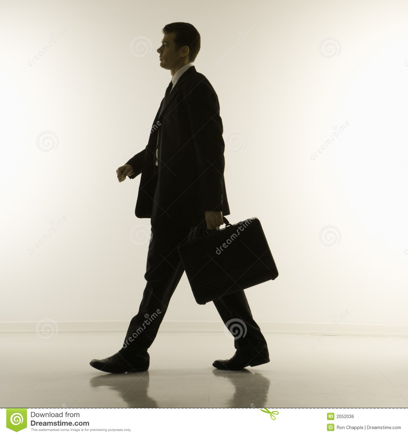 Silhouette Of Businessman Royalty Free Stock Image - Image ...