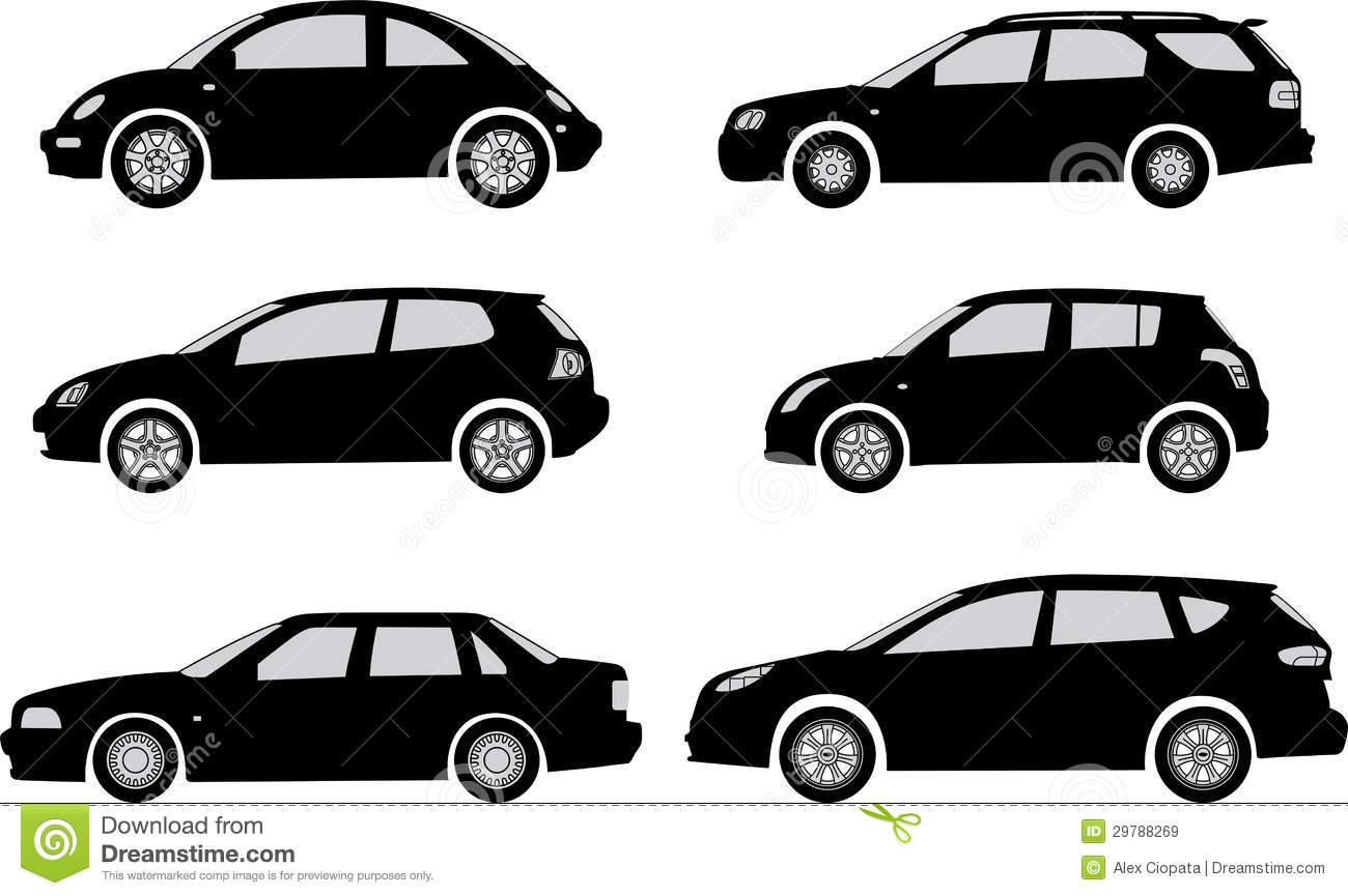 Car Silhouettes Stock Vector Illustration Of Clip Speed