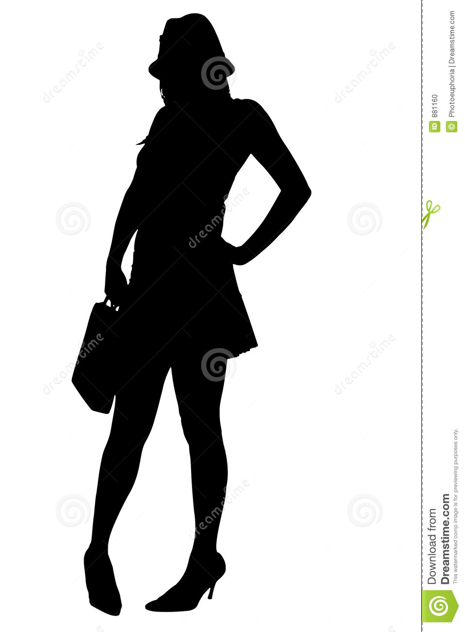 Sexy lady silhouette images