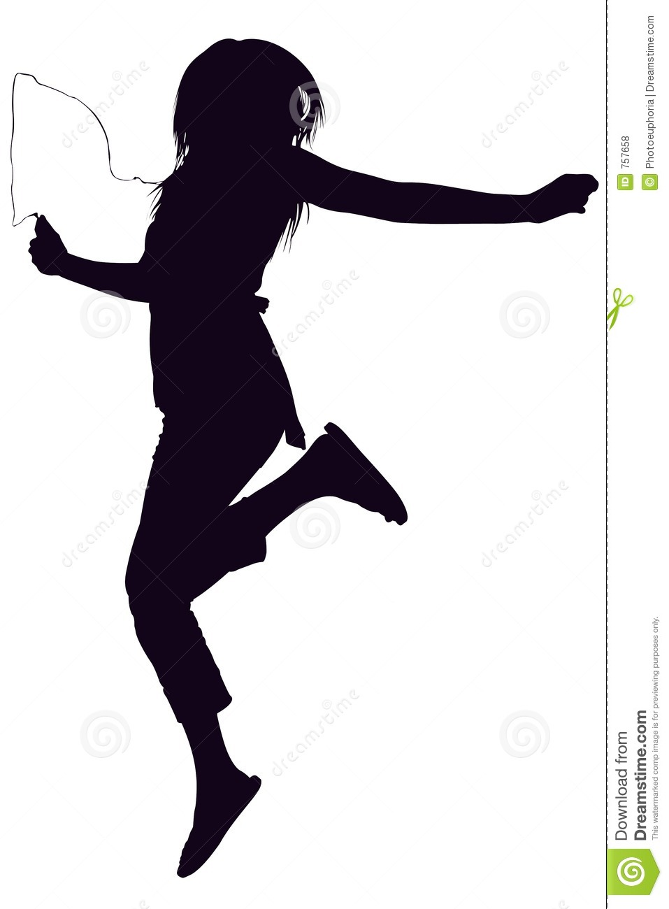 Free stock photos silhouette with clipping path of teen jumping