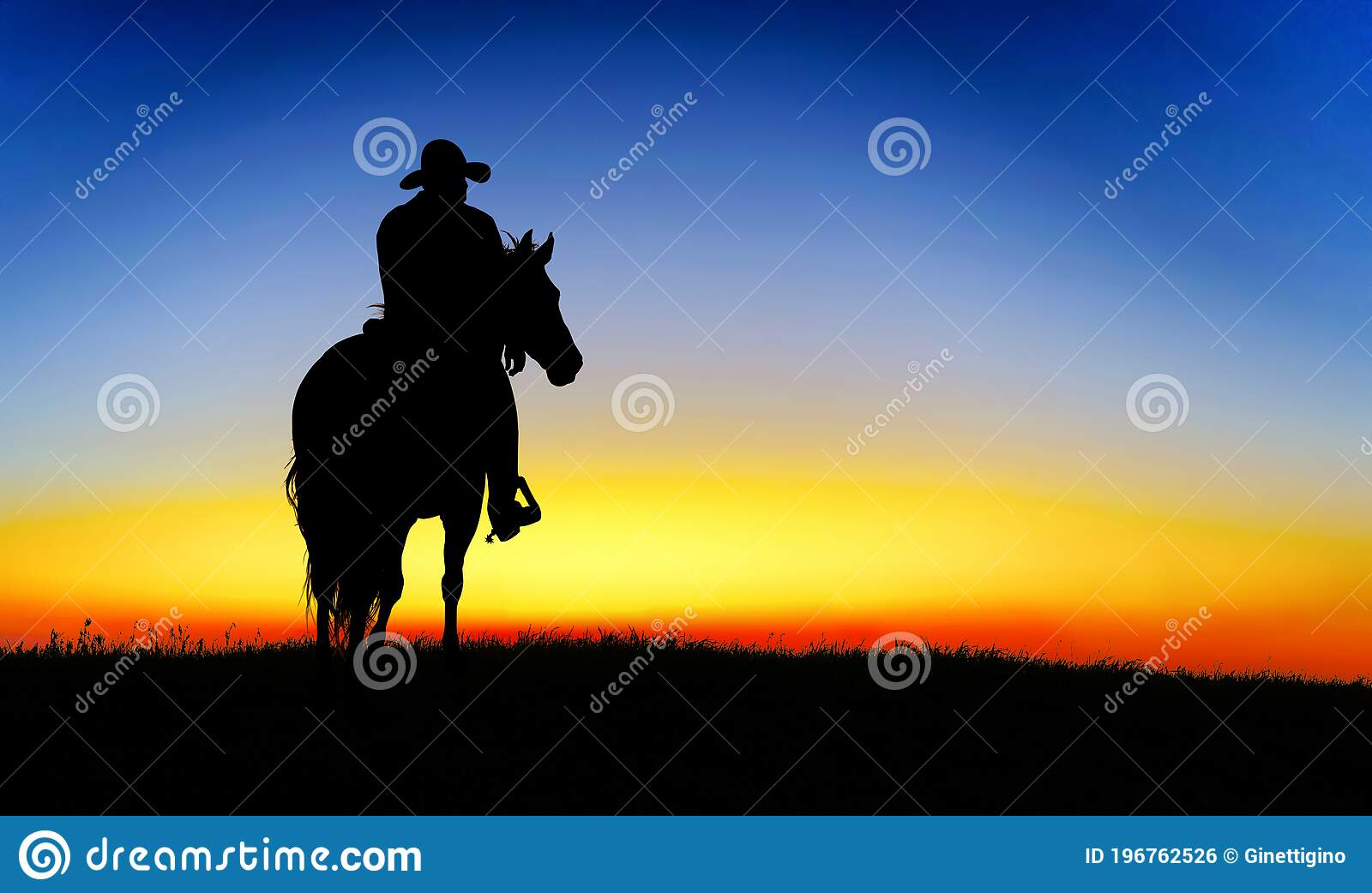 1 031 Cowboy Horse Silhouette Photos Free Royalty Free Stock Photos From Dreamstime