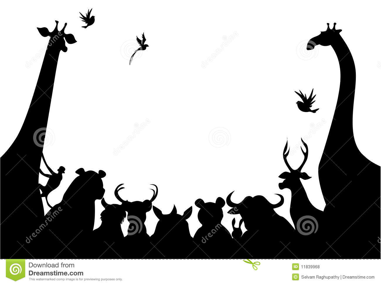 Silhouette d animaux