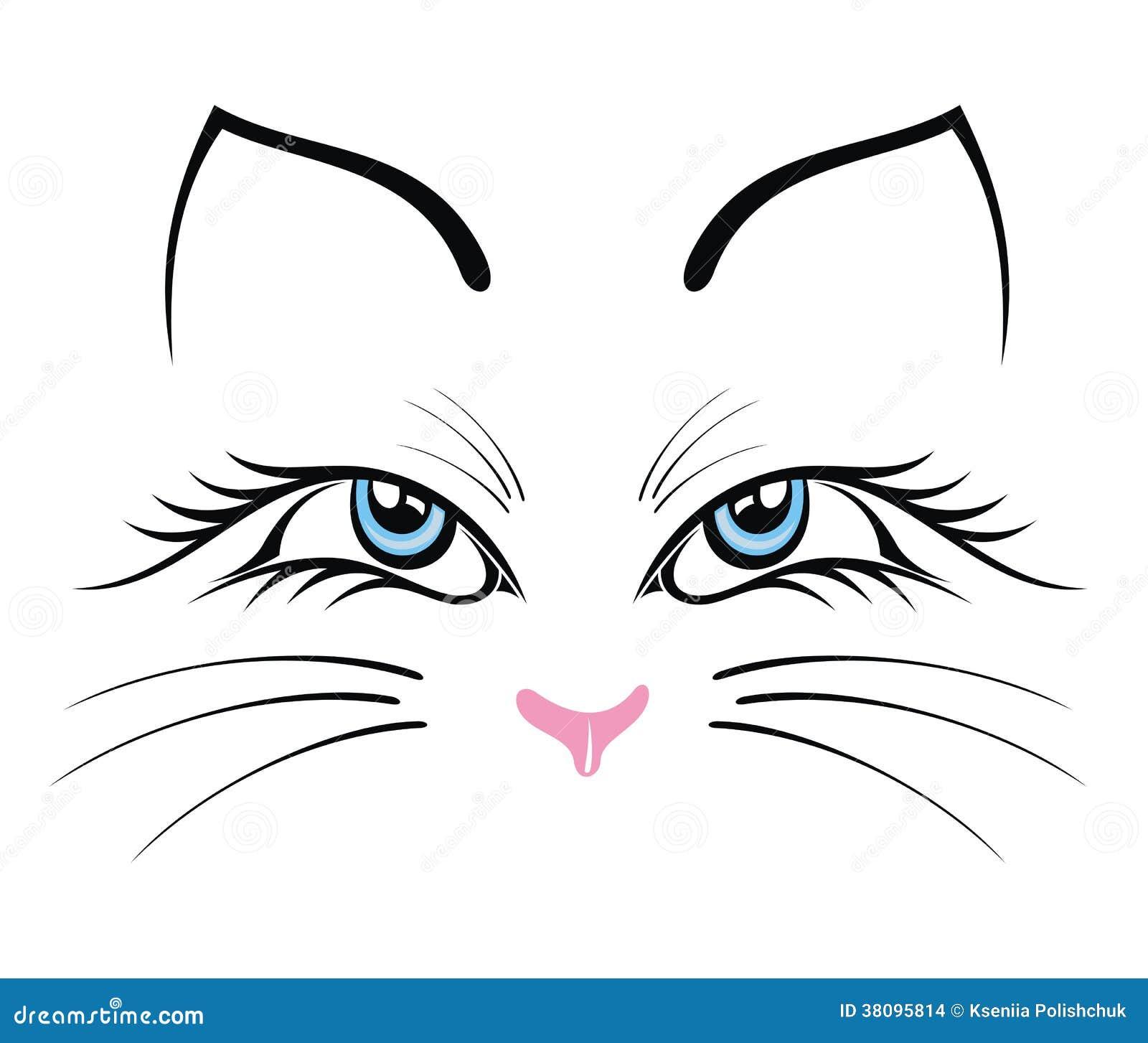 Dessins de chats stylis s galerie tatouage - Symbolique du chat ...