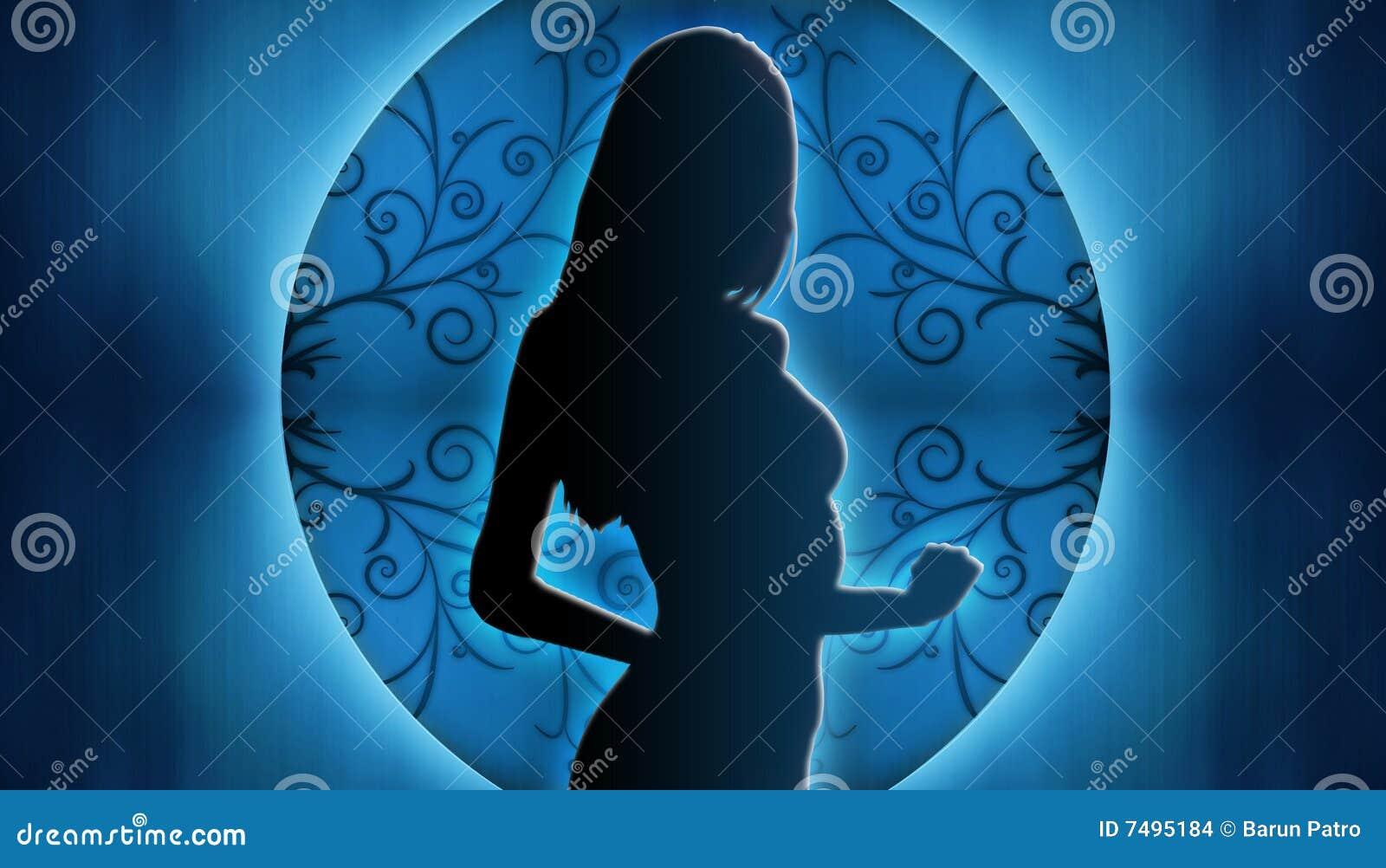 Silhouette de femme
