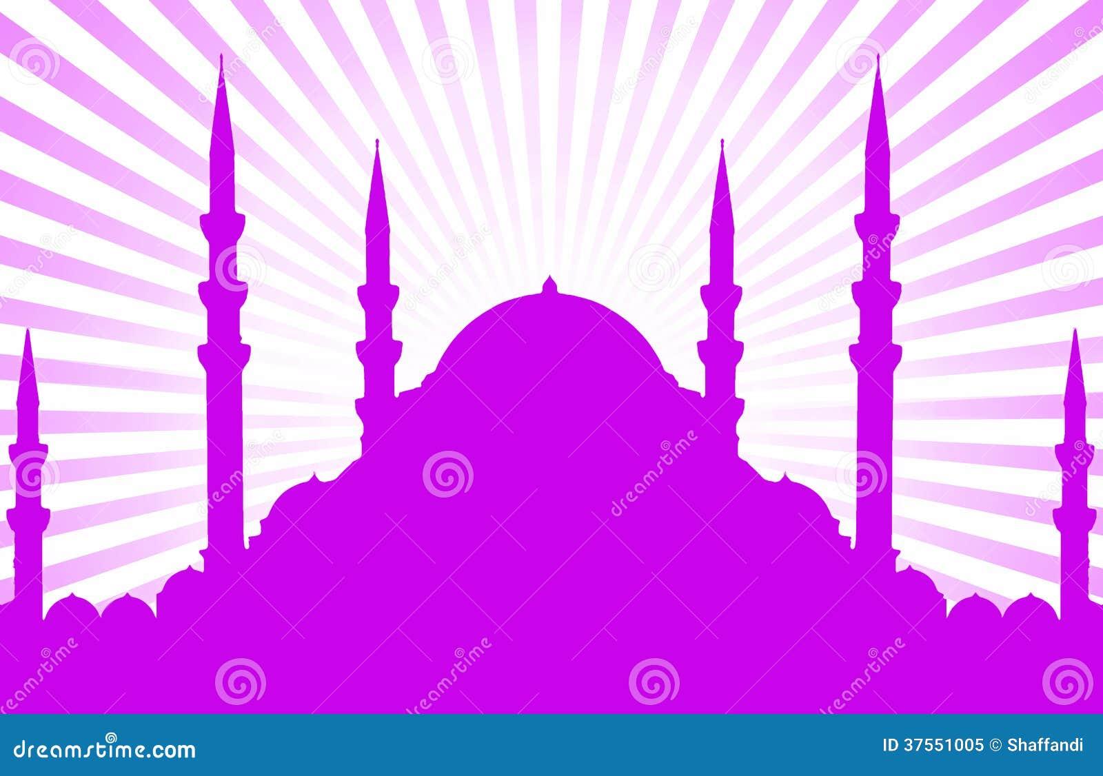 Silhouette de mosquée