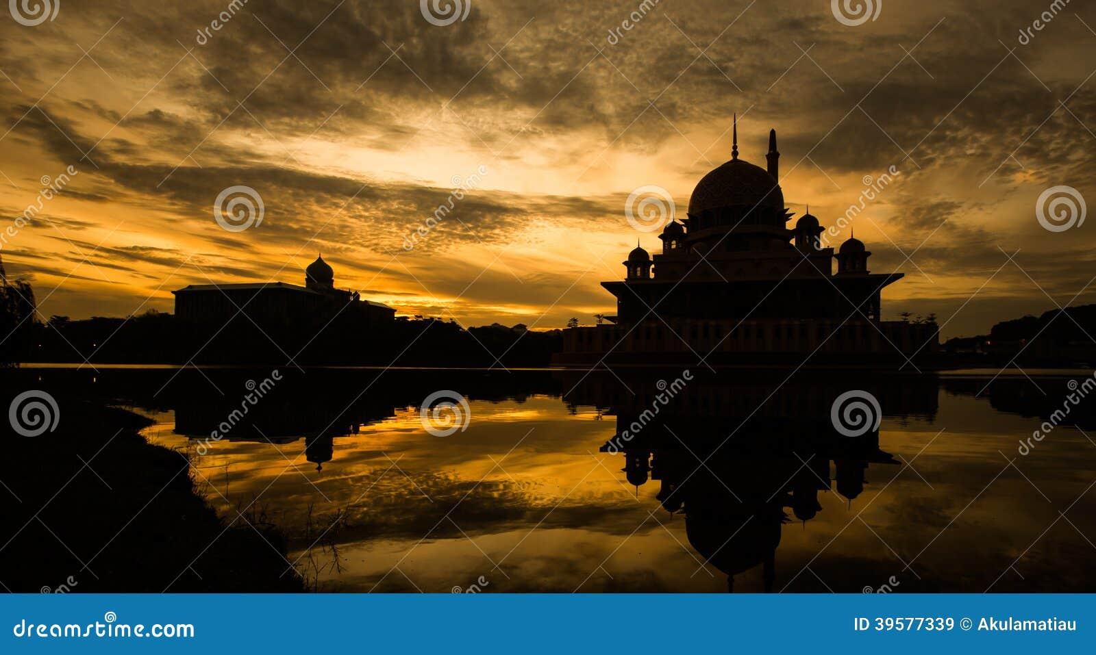Silhouette de mosquée, Malaisie I