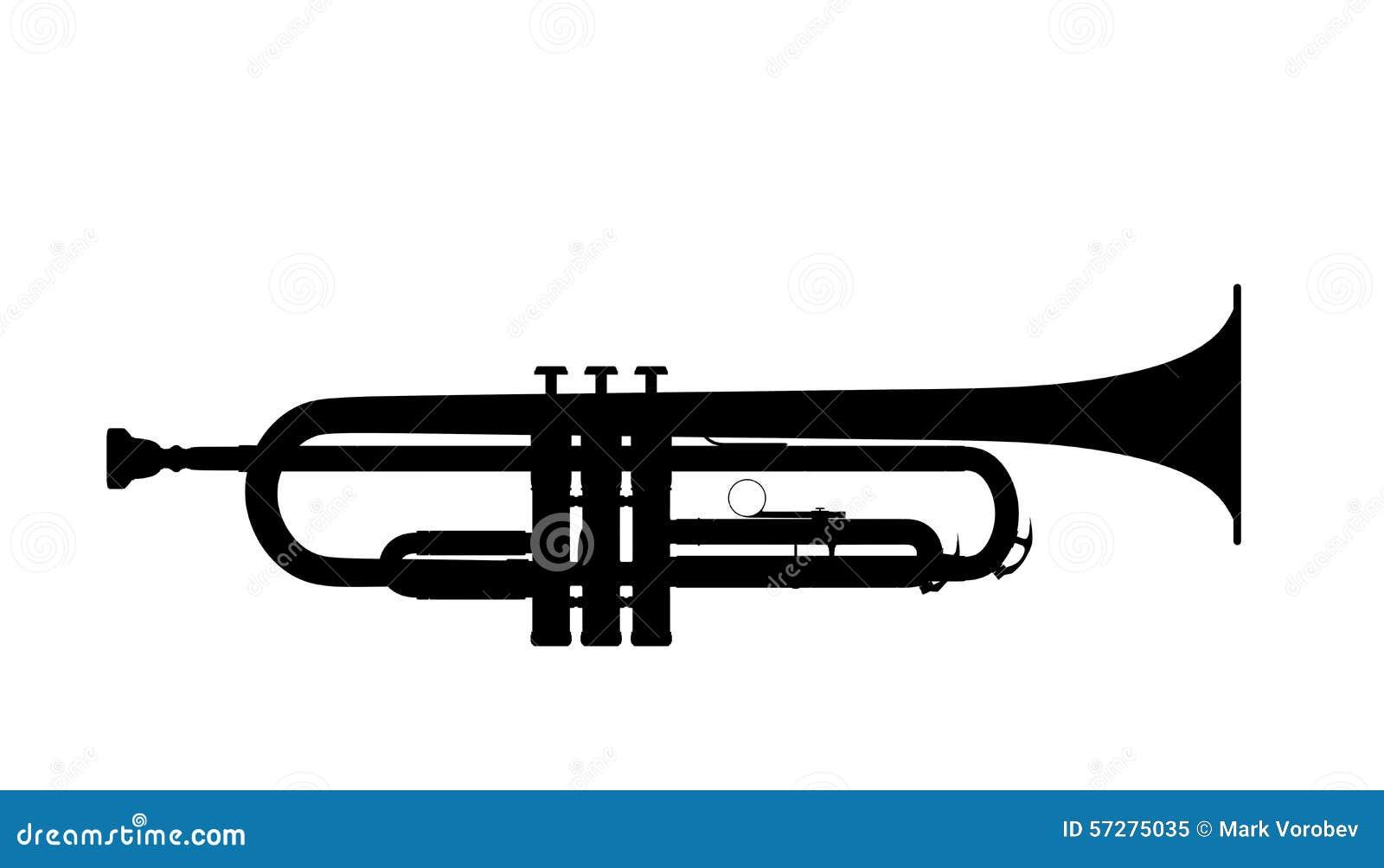 Silhouette de trompette