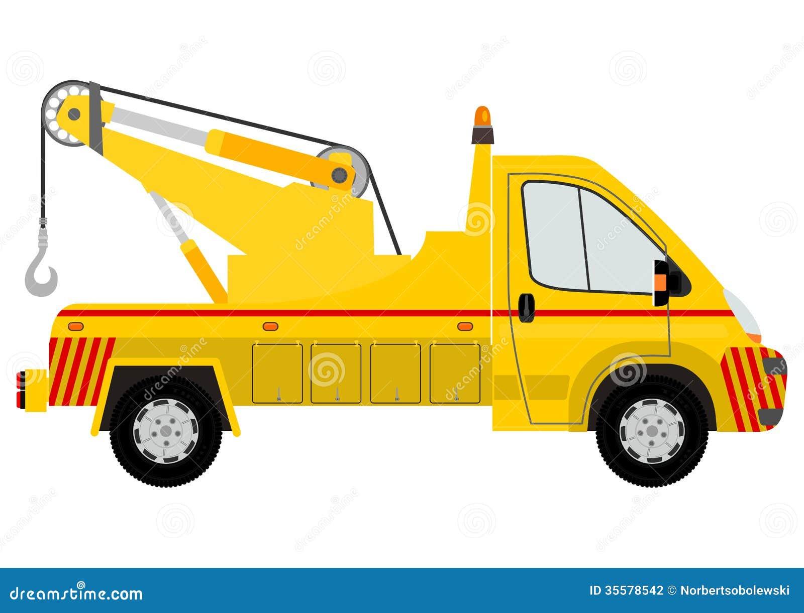 silhouette de voiture de remorquage illustration de vecteur image 35578542. Black Bedroom Furniture Sets. Home Design Ideas
