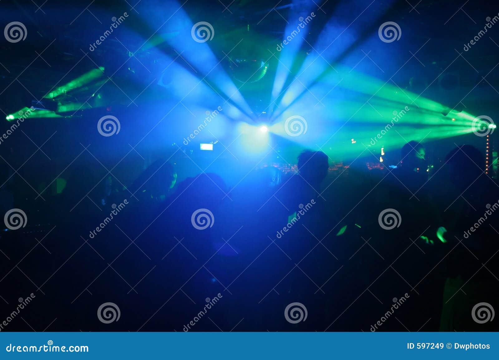 Silhouette des gens de danse