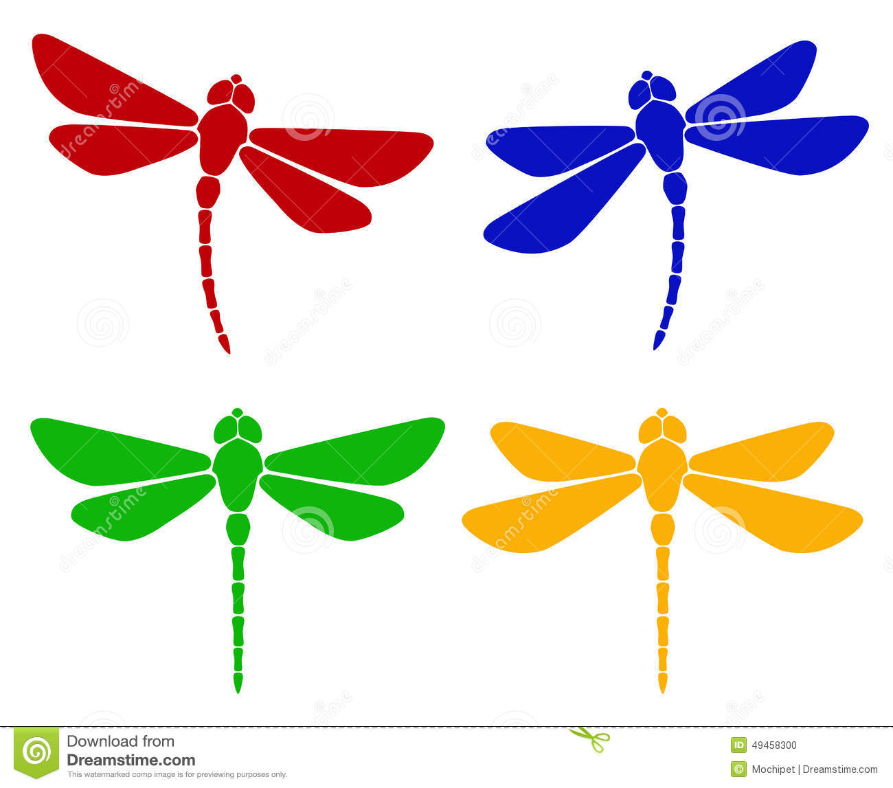 silhouette of dragonfly illustration 49458300 megapixl