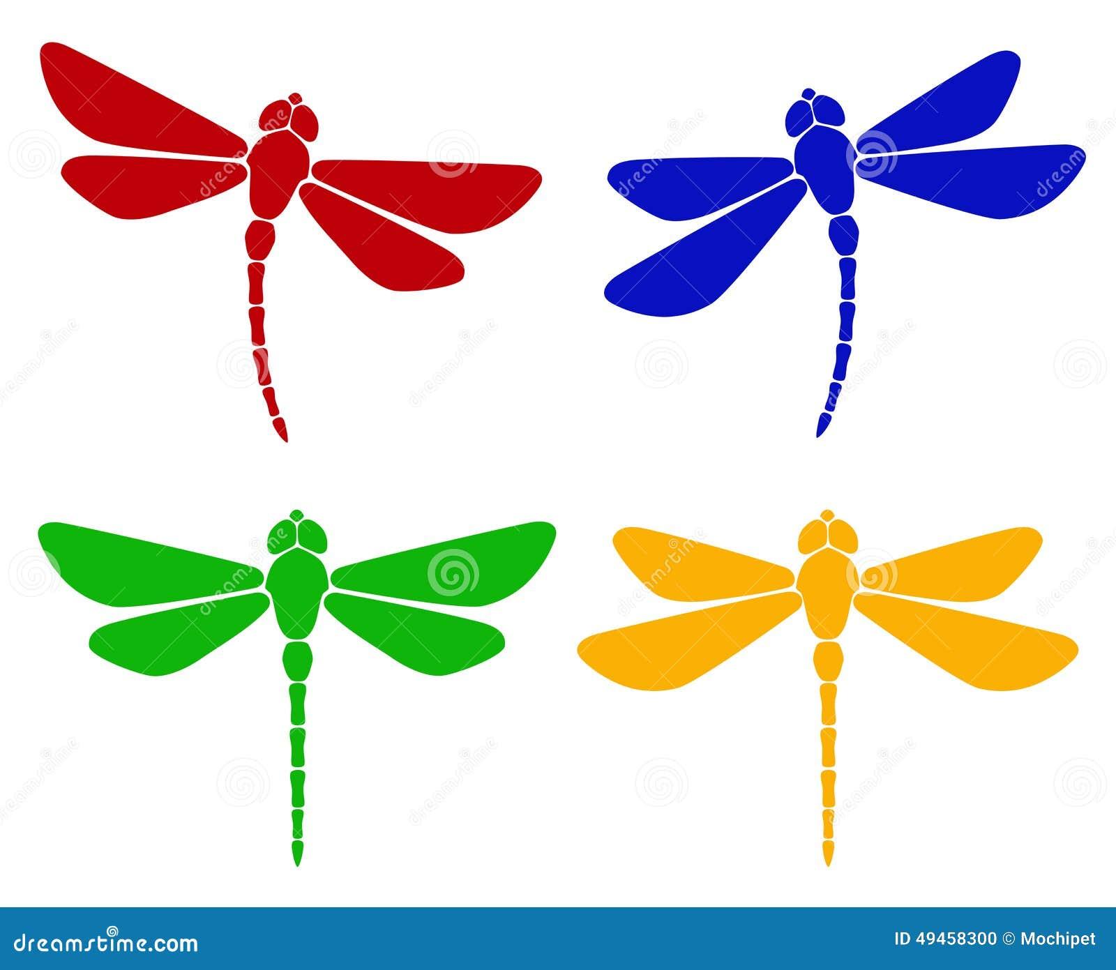 Silhouette of dragonfly illustration 49458300 megapixl biocorpaavc