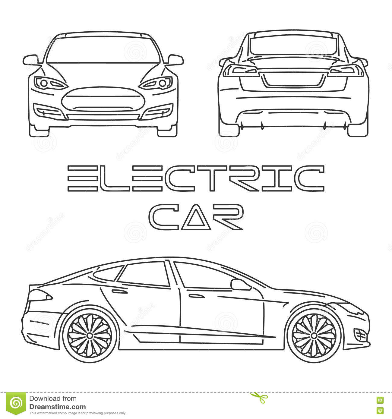 tesla cartoons  illustrations  u0026 vector stock images