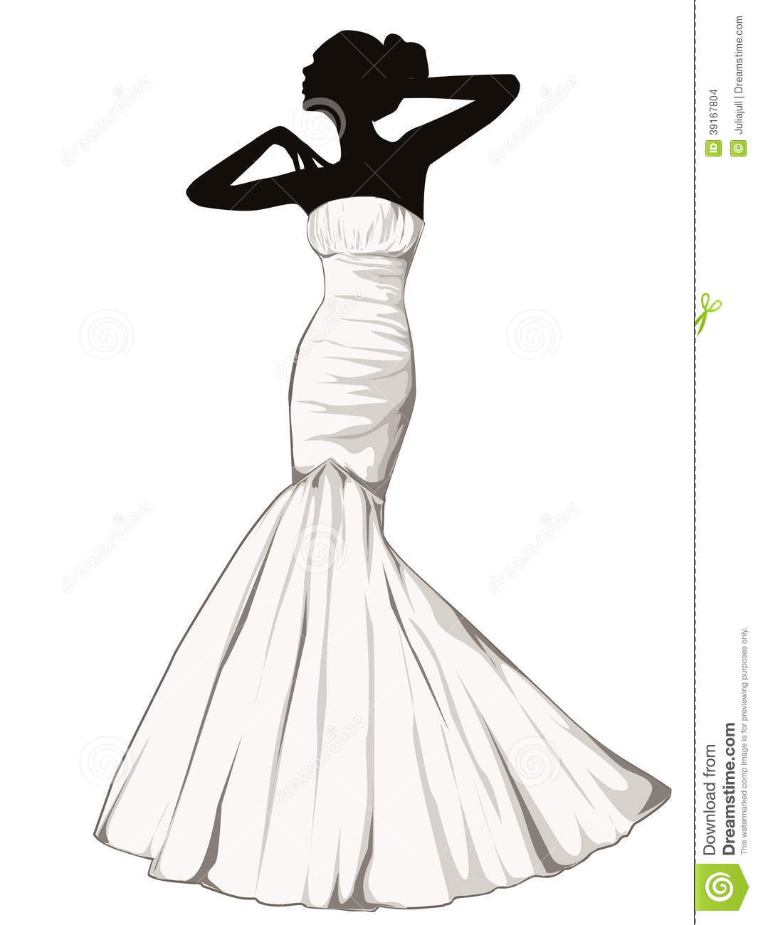 Wedding Gown Clip Art: Scandinavianmodernliving.com