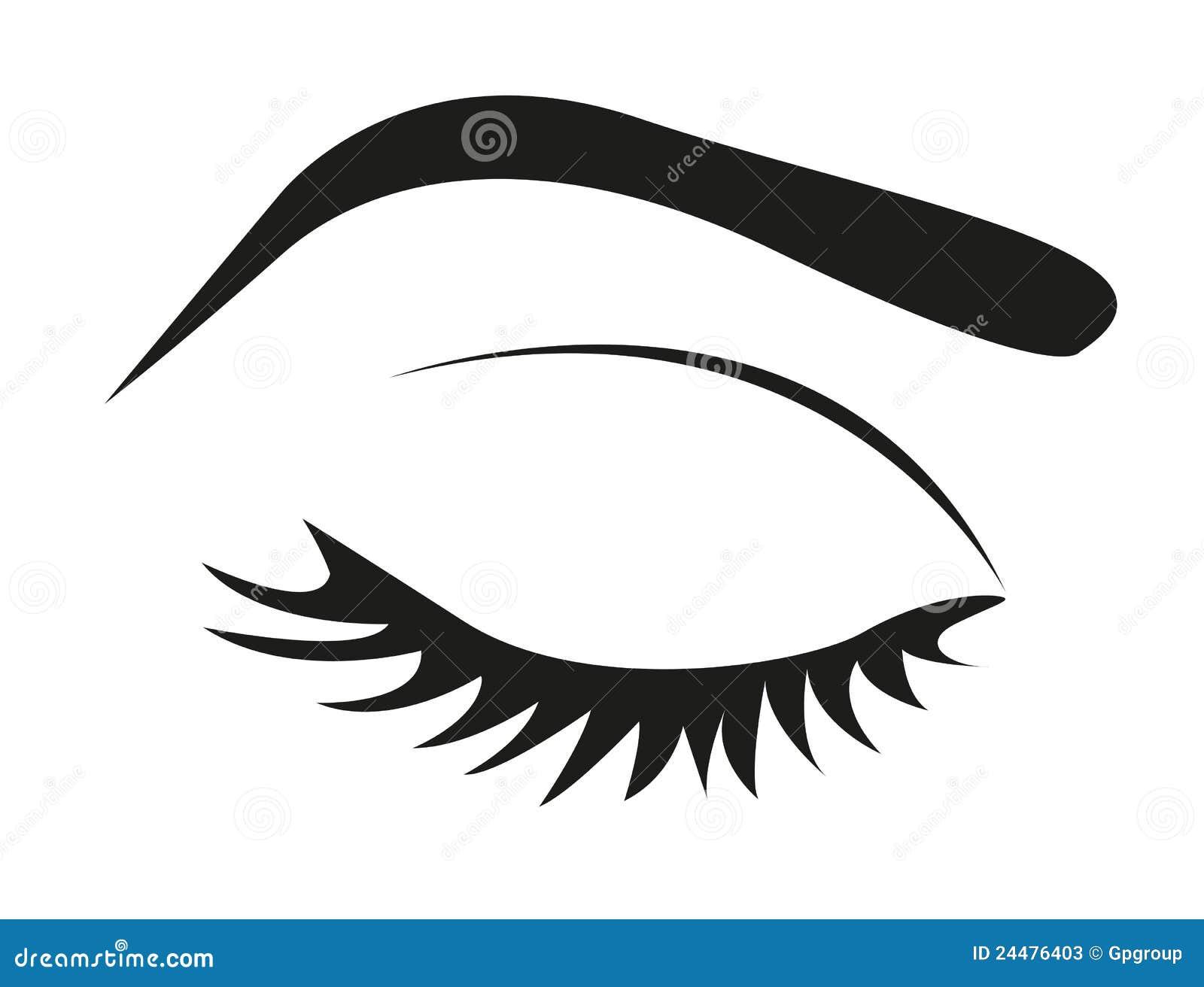 Eyelash Silhouette